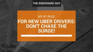 Advice For New Uber Drivers: Don't Chase The Surge!