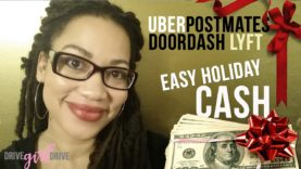 Can I Make Easy Holiday Money With Rideshare? vlogmas #5