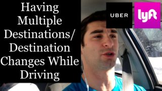Dealing with Multiple Destinations/Destination Changes While Driving for Uber & Lyft