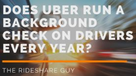 Does Uber Run a Background Check on Drivers Every Year?