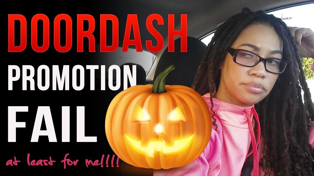 DoorDash Halloween Promotion Fail