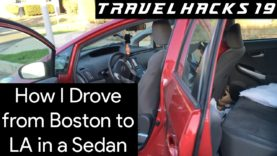 How I Drove from Boston to LA in a Sedan | Travel Hacks #19