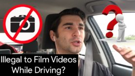 Is it Illegal to Record Videos While Driving?