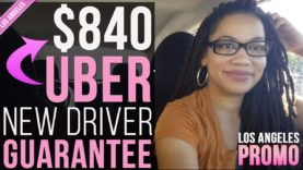 LOS ANGELES: UBER's $840 New Driver Sign Up Bonus!