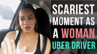 My Scariest Moment as a Woman Uber Driver