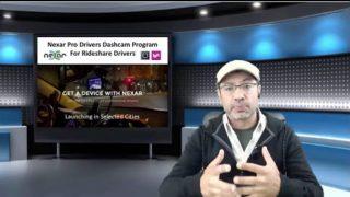 Nexar Free Dashcam Program for Uber and Lyft Rideshare Drivers