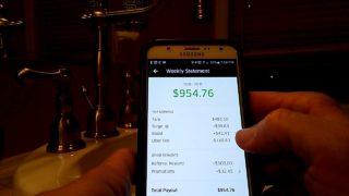 Proof RE: $2400/WEEK $650/DAY $40/HR+- Lyft Uber Wingz Amazon Flex Papa John's MILLIONAIRE RIDESHARE