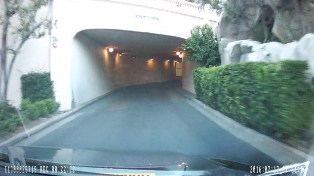 Rideshare Pickup at Bellagio