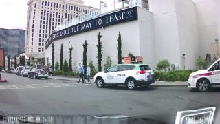 Rideshare Pickup at Caesar's Palace