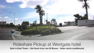 Rideshare Pickup at the WestGate