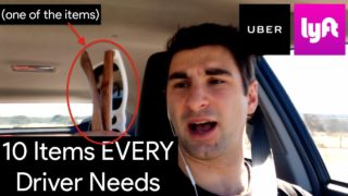 The 10 Items EVERY Uber & Lyft Driver Should Have