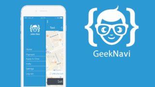 Uber App Clone – GeekNavi (Video Demo) (Version 1.1)