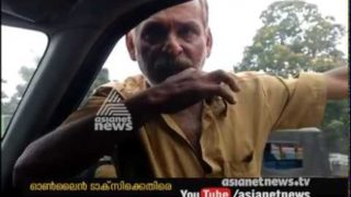 Uber cab issue at Cochin with autodrivers