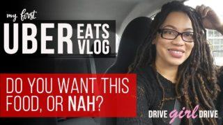 UBER EATS  VLOG…U Want This Food or Nah?