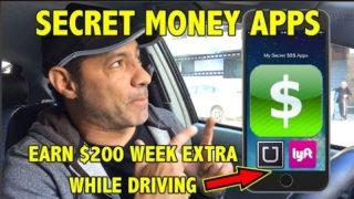 Uber Lyft Drivers-Secret Money Apps Make $200 Extra a Week!!!