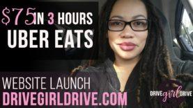 UberEats $75 in 3 Hours & The Launch of DriveGirlDrive.com – vlogmas#4