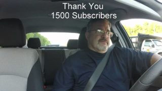 Uber/Lyft Driver – Thank You 1500 Subscribers