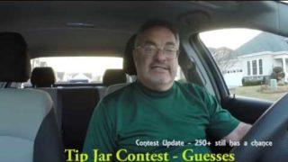 Uber/Lyft Drivers – Tip Jar Contest Update