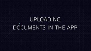 Uploading documents in the Uber Partner App