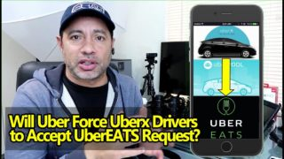 Will Uber Force Uberx Drivers to Accept UberEATS Request?