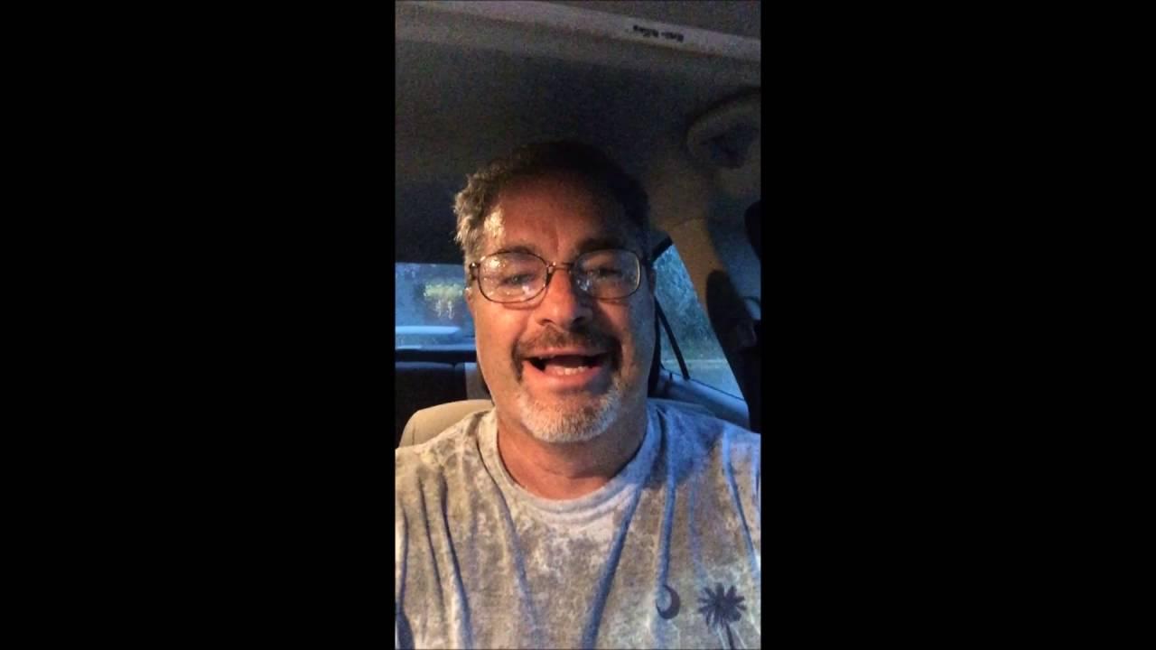 A Man, The Rain & a PortaPotty