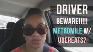 Driver Beware: Metromile & UberEats