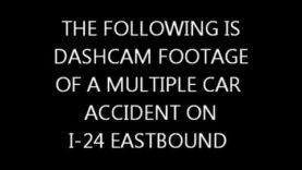 FALCON ZERO F-360 — MULTIPLE CAR ACCIDENT CAUGHT ON CAMERA