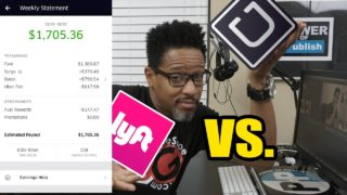 Re: Uber vs. Lyft. Which rideshare is #1 and why?