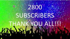 Uber/Lyft Drivers – 2800 Subscribers – Thank You!