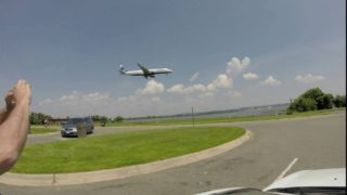 Watching the Planes at Reagan Airport – Time Lapse