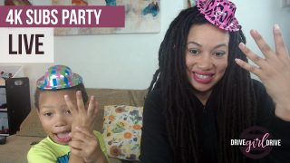 Drive Girl Drive – 4,000 Subscribers Party – Live