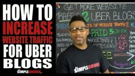 How To Increase Website Traffic To Your Uber Blog