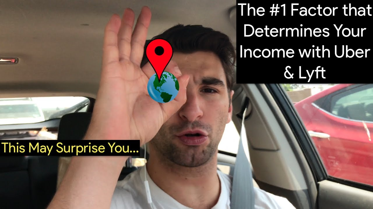 The #1 Factor that Determines Your Income with Uber & Lyft (This May Surprise You…)