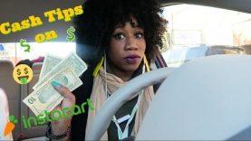 Cash Tips On InstaCart | Vlog 2: Day In the Life of an Entrepreneur