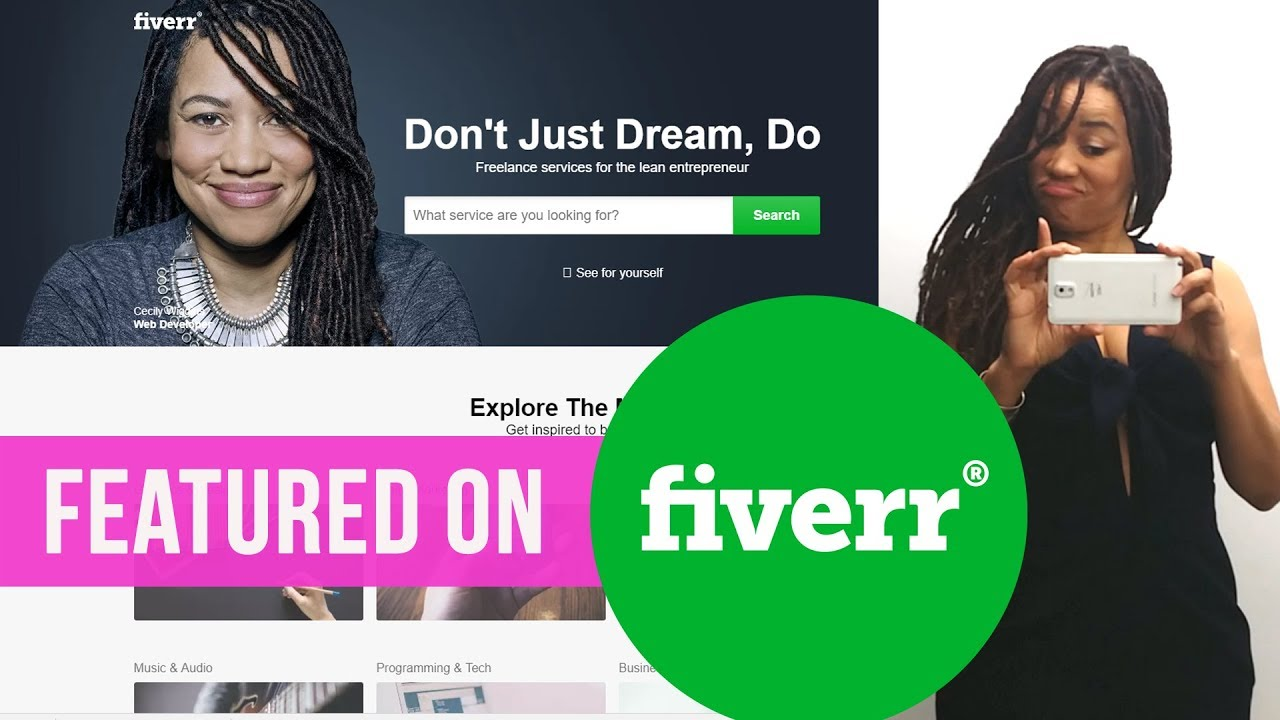 Featured on Fiverr.com!!! (Again)