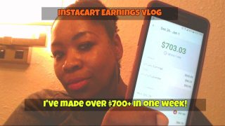 How much I've earned from Instacart? $700+ per week!