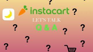 INSTACART | Q&A