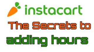 Live Video: Adding Hours To Your Schedule With Instacart