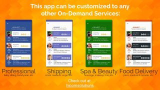 Uber style – Taxi Booking App – Best App of HiCom Solutions