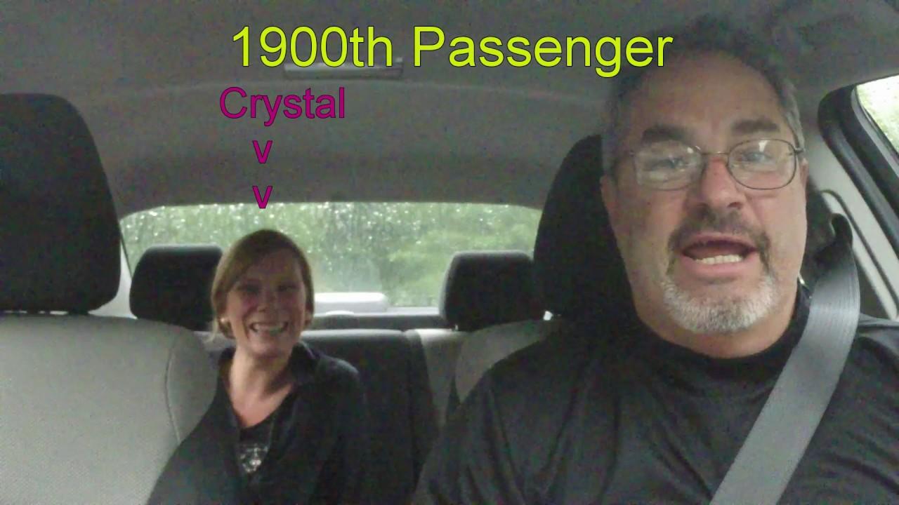 Uber/Lyft Driver – 1900th Passenger