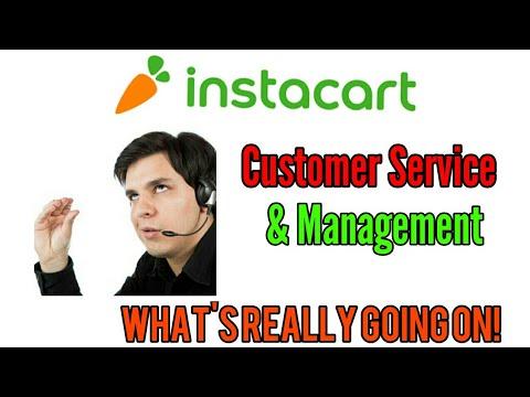 Understanding Instacart's Customer Service Department and Area Management