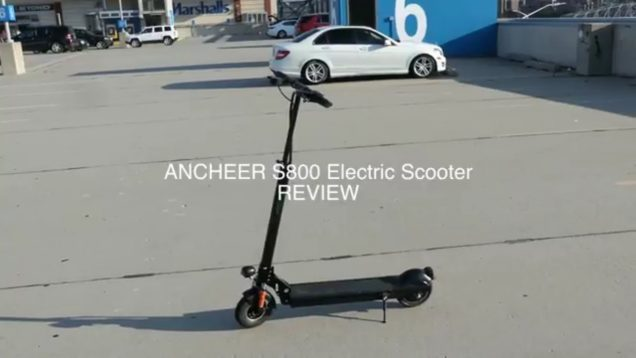 ANCHEER S800 Electric Scooter Review