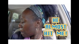 HE ALMOST HIT ME! | Black and Natural in Jerusalem #270