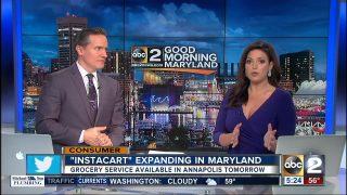 Instacart expanding in Maryland