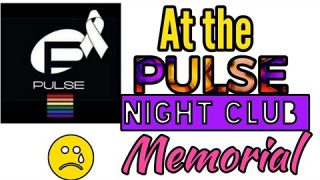 Live Video: At Pulse Night Club Memorial in Orlando. ?