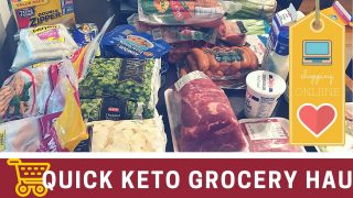Super Fast Keto Grocery Haul – Instacart