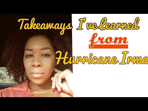 Takeaways I've Learned from Hurricane Irma ❤