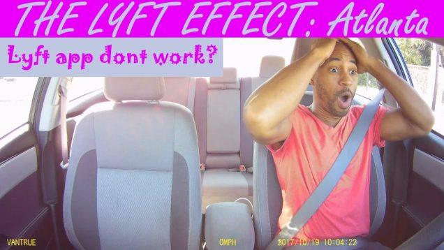 The Lyft effect in Atlanta