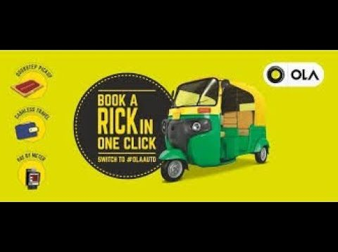 How to book OLA cabs app | How do hoki beats ?? | ola kaise book kare |