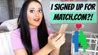 I SIGNED UP FOR MATCH.COM? | DATING APP REVIEW
